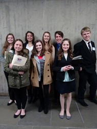 Gateway Model UN team