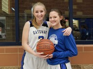 Gateway Girls Basketball Seniors