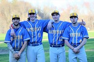 Senior baseball players photo