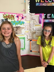 Littleville 5th graders at last week's STEM Fair