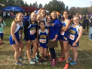 Girls X-C Team at PVIAC