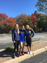 Lily Waters, Alex Auclair and Jess VanHeynigen - Gateway's MIAA Ambassadors