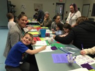 Family Fun at Math Night