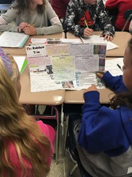 6th Graders Report on Natural Disasters