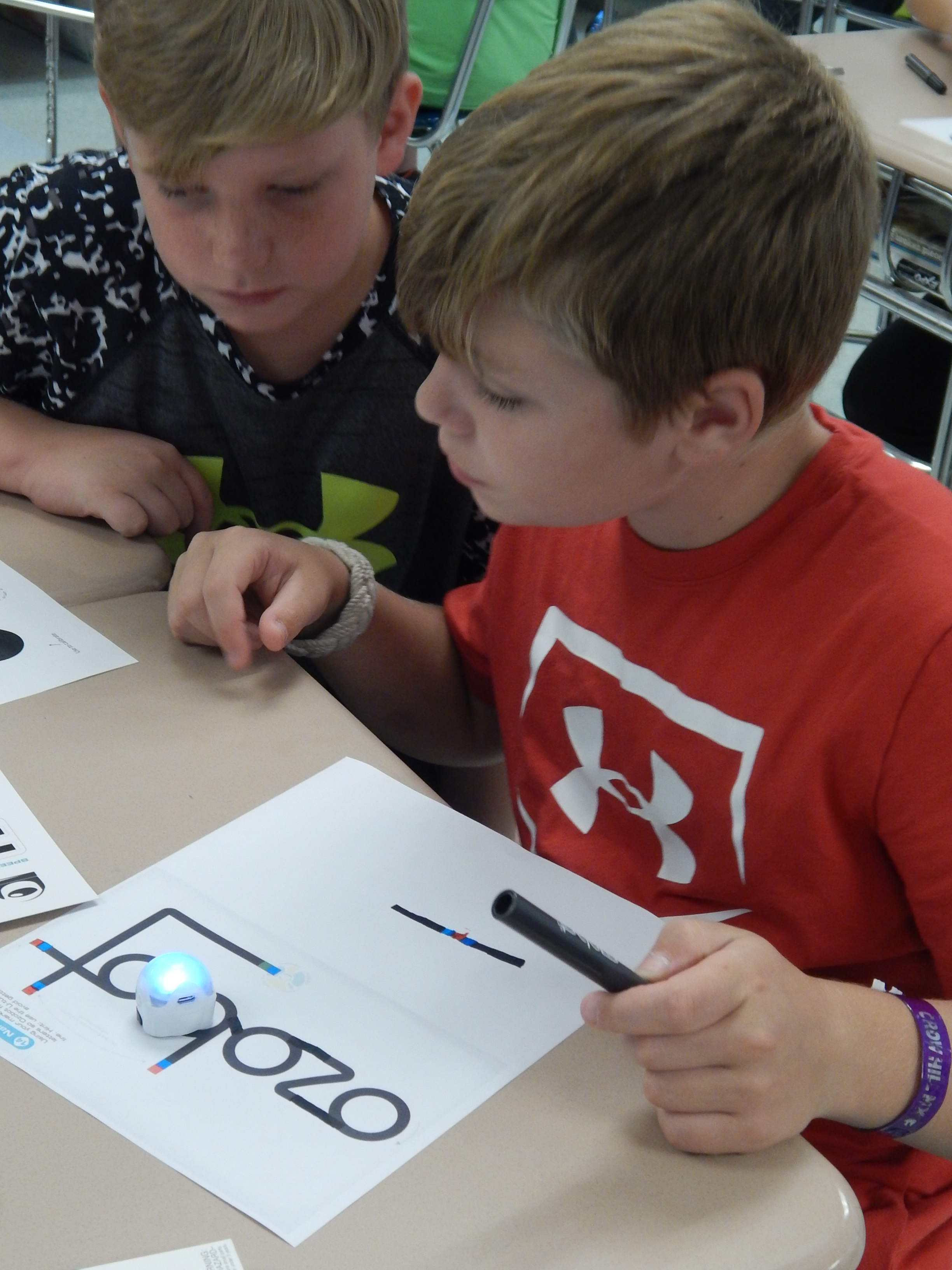 Ozobots in Grade 6