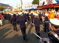 GRSD Marching Band at the Big E