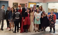 Students assemble for Best Buddies Prom