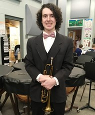 Parker Atkin, selected for Jr. District Music Festival