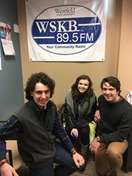 Cast of The Last 5 Years, at WSKB radio interview