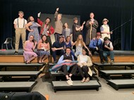 "Cast of ""Big Fish"" the musical, at Gateway May 10 and 11."