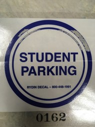 HS Parking Sticker