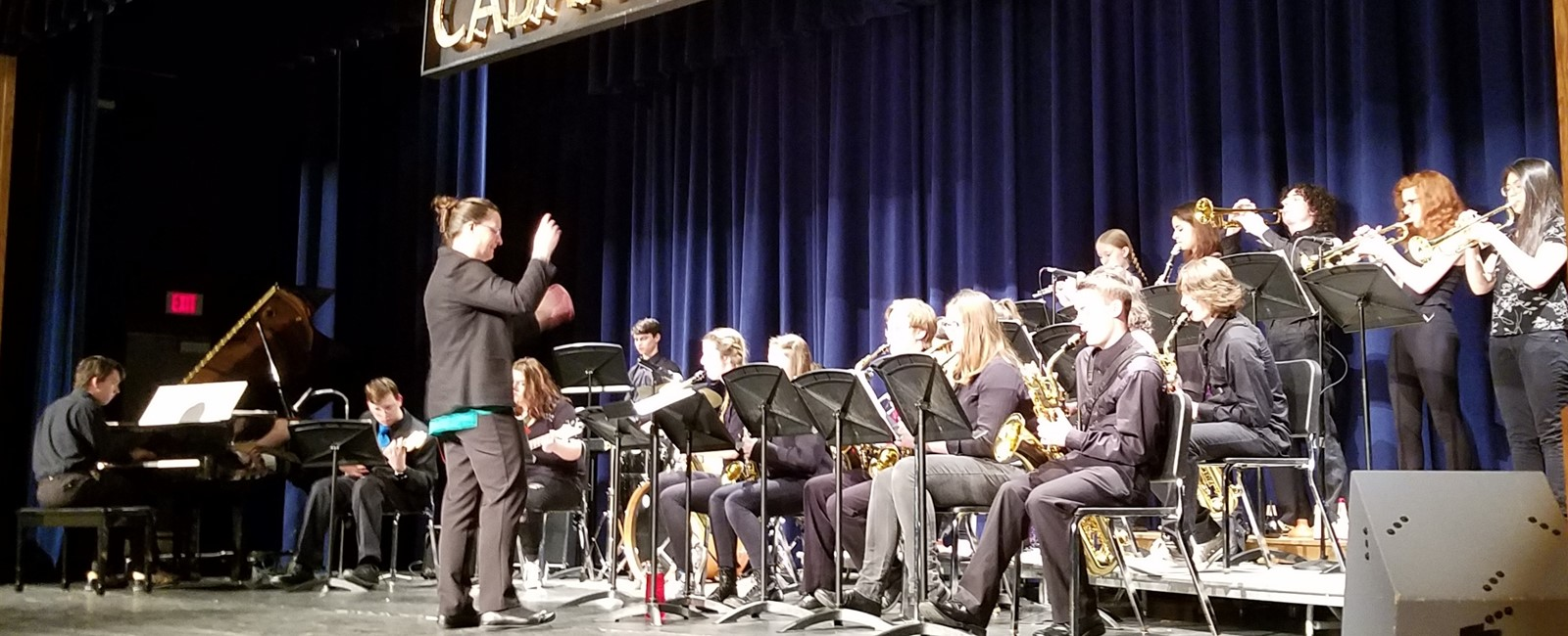 Jazz Band at Cabaret 2018