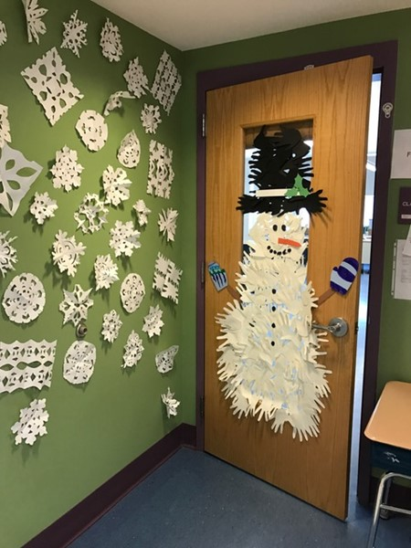 Mrs. Cabral's 4th grade door