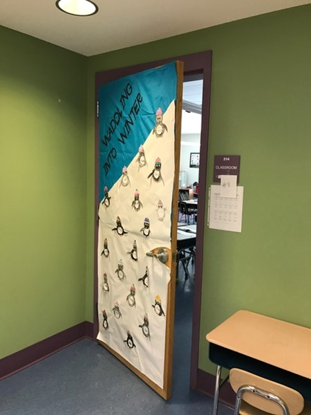 Mrs. Cadigan's 1st grade door