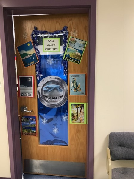 Mrs. Harrison's door to the SAIL room