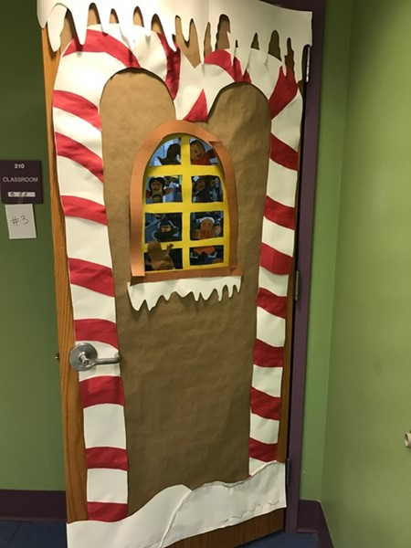 Mrs. Burke-Birrell's door