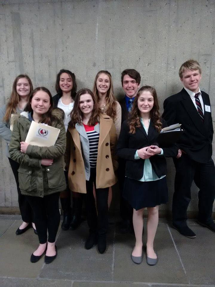 Photo of Gateway Model UN Team at UMASS